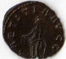 Antoninien de Tetricus (LAETITIA AVGG)[WM n° 7740] Img02011