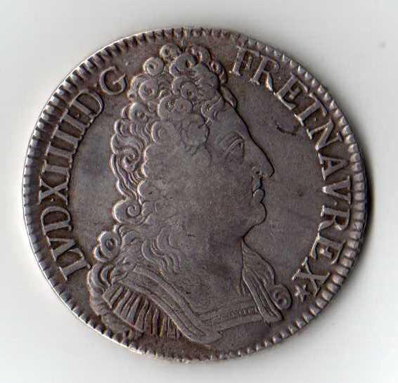 Ecu aux trois couronnes 1709 Img07310
