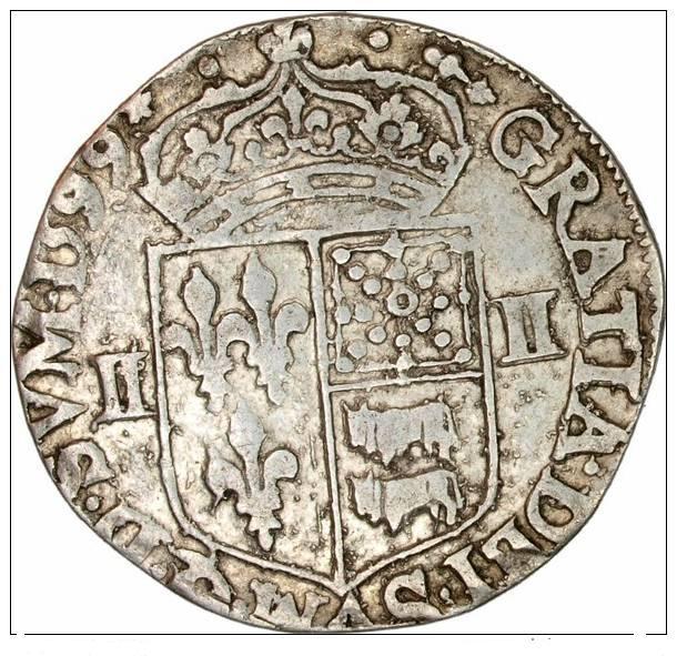 Quart d'écu Henri IV moorlas Quart_16