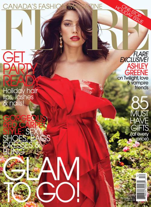 'FLARE' Magazine. - Decembre 2011.  Tumblr10