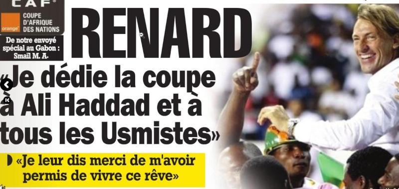 Hervé Renard Champion d'Afrique Renard10