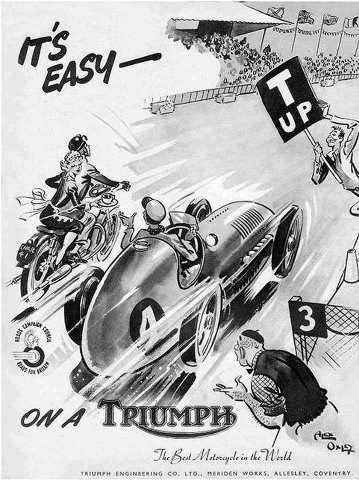 Affiche triumph Tumbl181