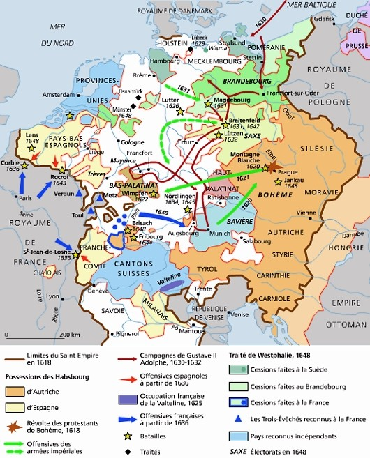 Guerre de Trente Ans ( Europe ) 10112410