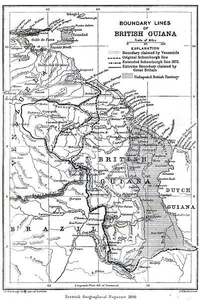 Conflit frontalier: Venezuela et le Guyana 399px-10