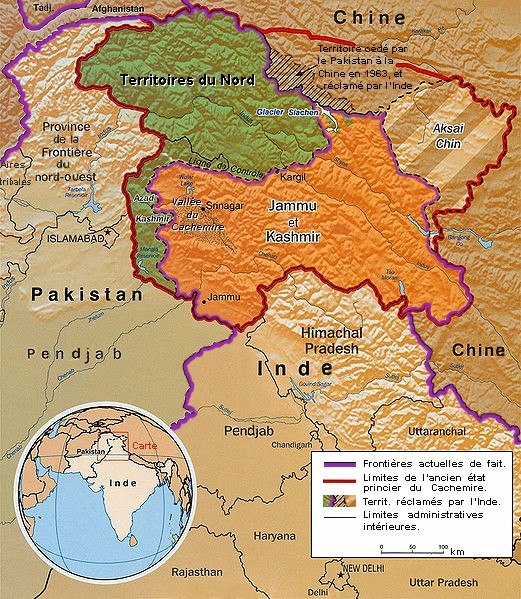 Géopolitique la région du Cachemire French10