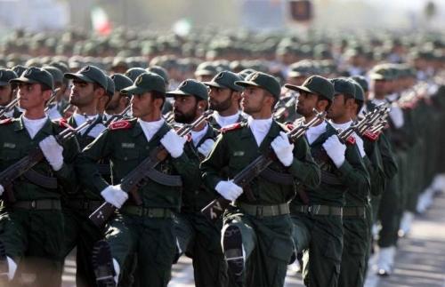 Forces armées iraniennes Gardie10