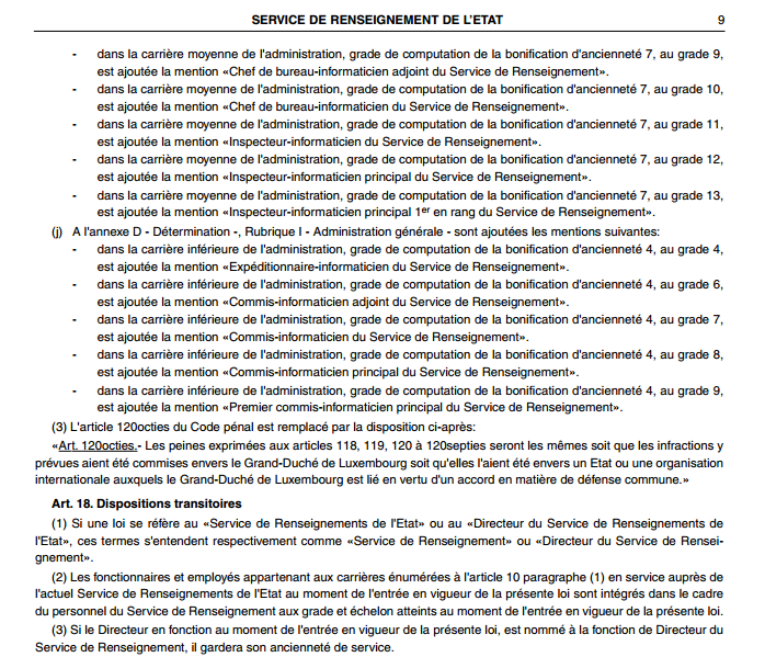 Service de renseignement de l'État du Luxembourg Snapsh12