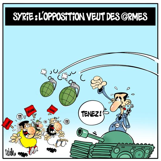 Caricature du jour (Vol2)     - Page 2 Syrieg10