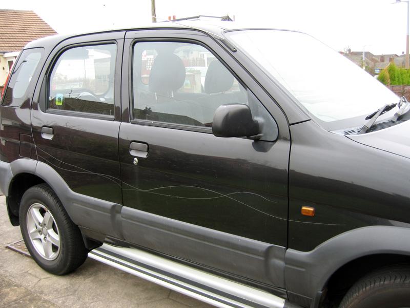 Damage to Charity's vehicle Damage16
