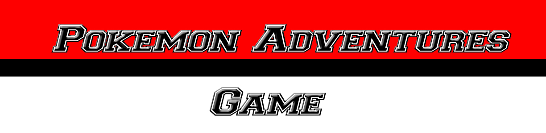 Pokemon Adventures Game
