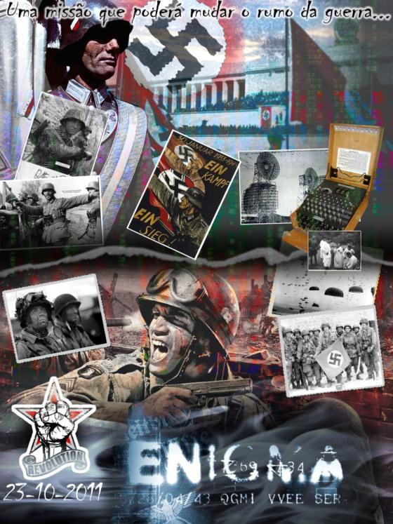 OP. ENIGMA - Dia 23 de Outubro ( Revolution Team) Poster10