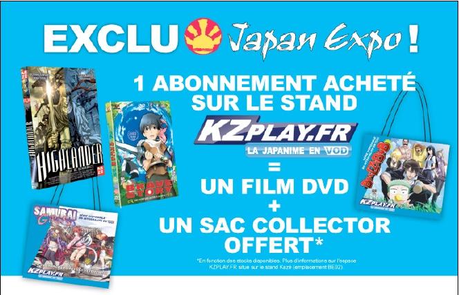 Japan expo : 30 juin au 3 juillet 2011 au Parc des Expositions de Paris-Nord Villepinte : Infos & Goodies Cadeau10