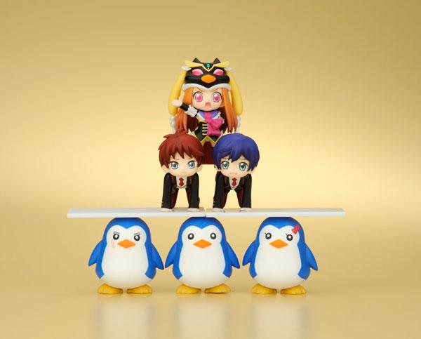 [Figurine] Kotobukiya - Mawaru-Penguindrum Trading Mini Figure - Mureru Pingdrum BOX (Mawaru-Penguindrum) Fig-co26
