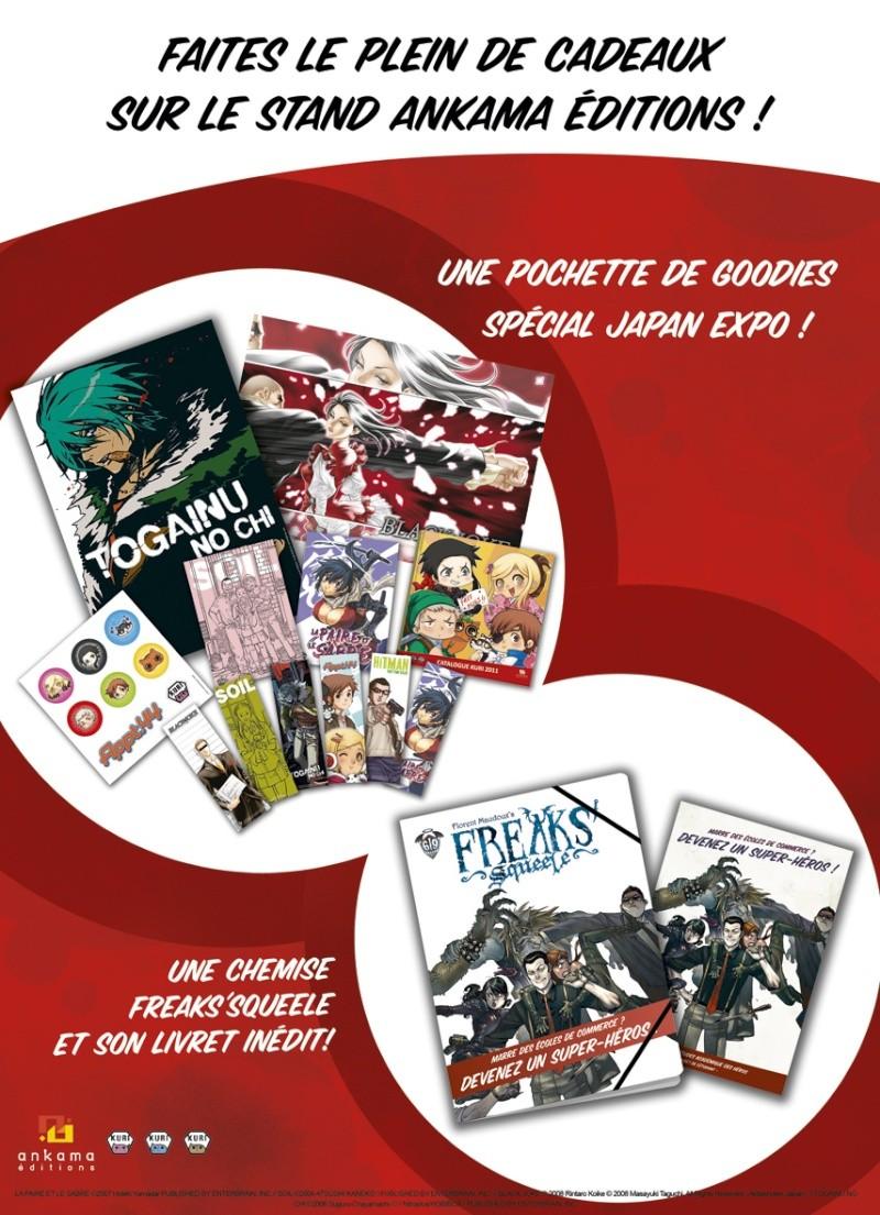 Japan expo : 30 juin au 3 juillet 2011 au Parc des Expositions de Paris-Nord Villepinte : Infos & Goodies Goodie11