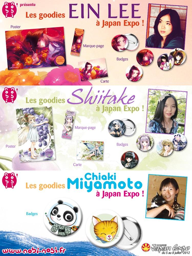 [programme] La japan expo !! Goodie18