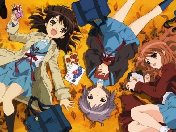 La Mélancolie de Haruhi Suzumiya saison 2 prévu en DVD pour février chez Kaze ! Melanc10
