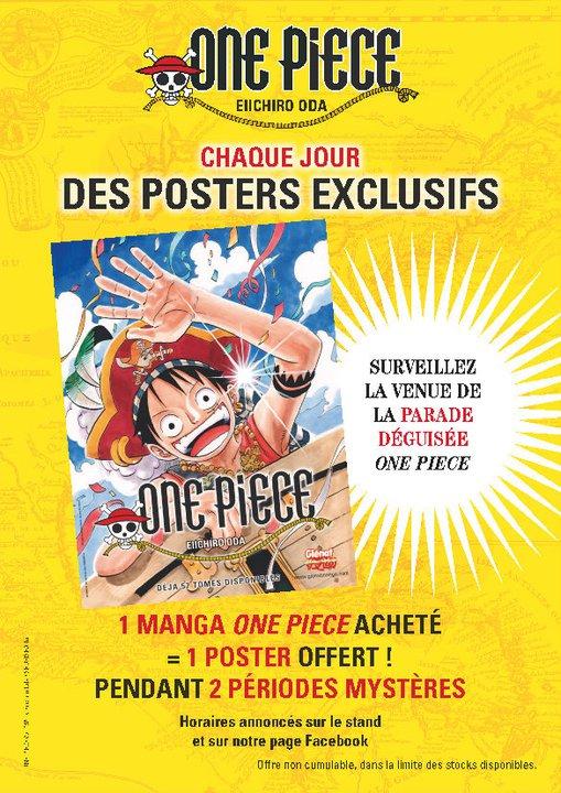 Japan expo : 30 juin au 3 juillet 2011 au Parc des Expositions de Paris-Nord Villepinte : Infos & Goodies Poster10