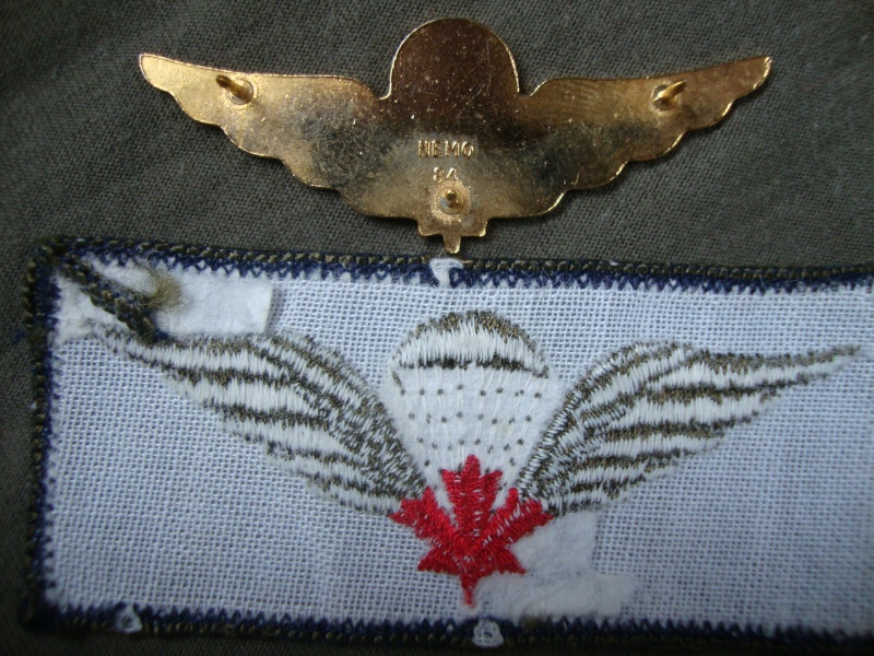 Canadian Para wings and patches help required. Dsc03412