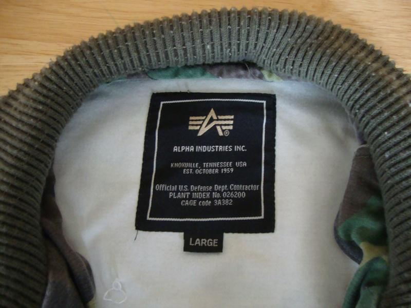 Alpha jacket. Dsc04932