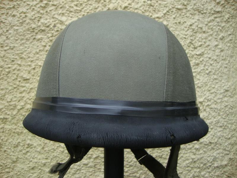 French F1 Helmet (French: 3e Régiment étranger d'infanterie.) Dsc05326