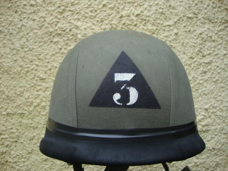 French F1 Helmet (French: 3e Régiment étranger d'infanterie.) Dsc05327