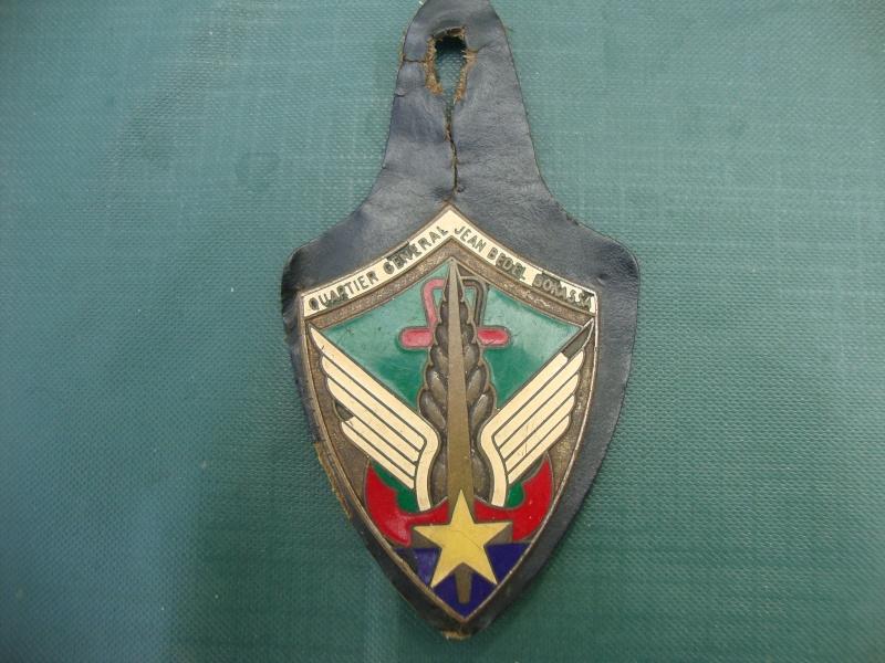 Central African Republic/ Quartier General Jean Bedel Bokassa Button Badge. Dsc06615