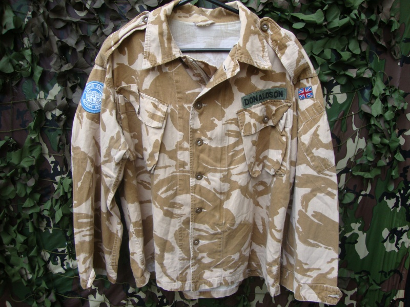 Brit UN Badged and named jacket.  Un_bad10