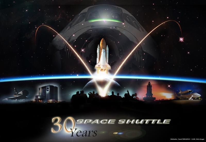 30ème anniversaire de la Navette Spatiale en 2011 30-210