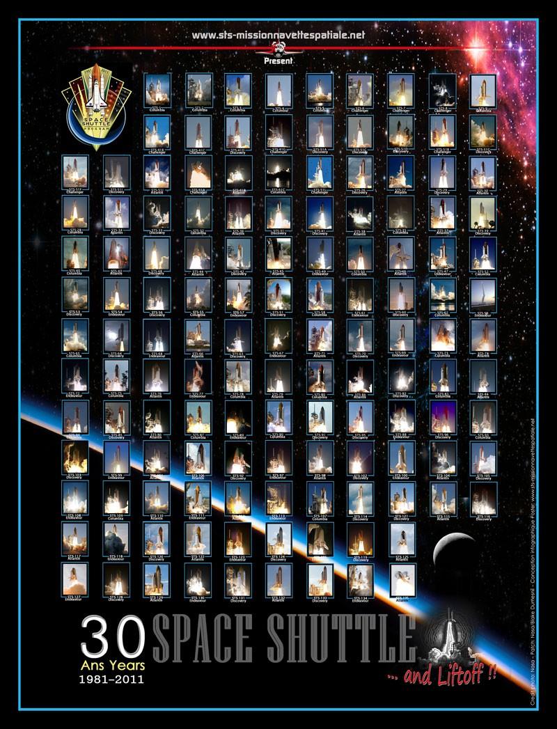 30ème anniversaire de la Navette Spatiale en 2011 - Page 5 Affich12