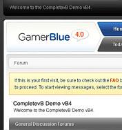 Skin - Gamer [Blue - Green - Red] + PSD Logos Gamerb10