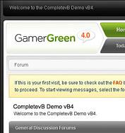 Skin - Gamer [Blue - Green - Red] + PSD Logos Gamerg11