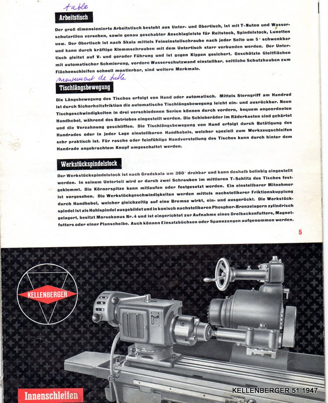 affuteuse universelle Kellenberger mod 51 Img02510