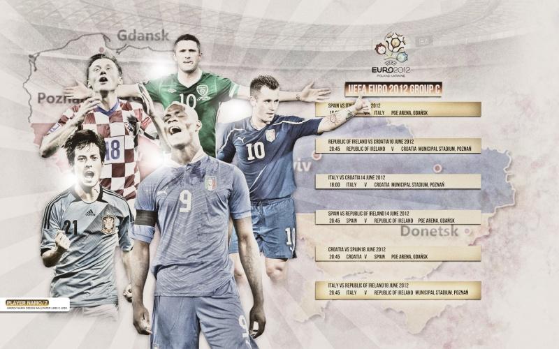 UEFA Euro 2012 Polonia y Ucrania Uefaeu12