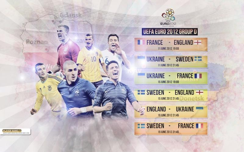 UEFA Euro 2012 Polonia y Ucrania Uefaeu13