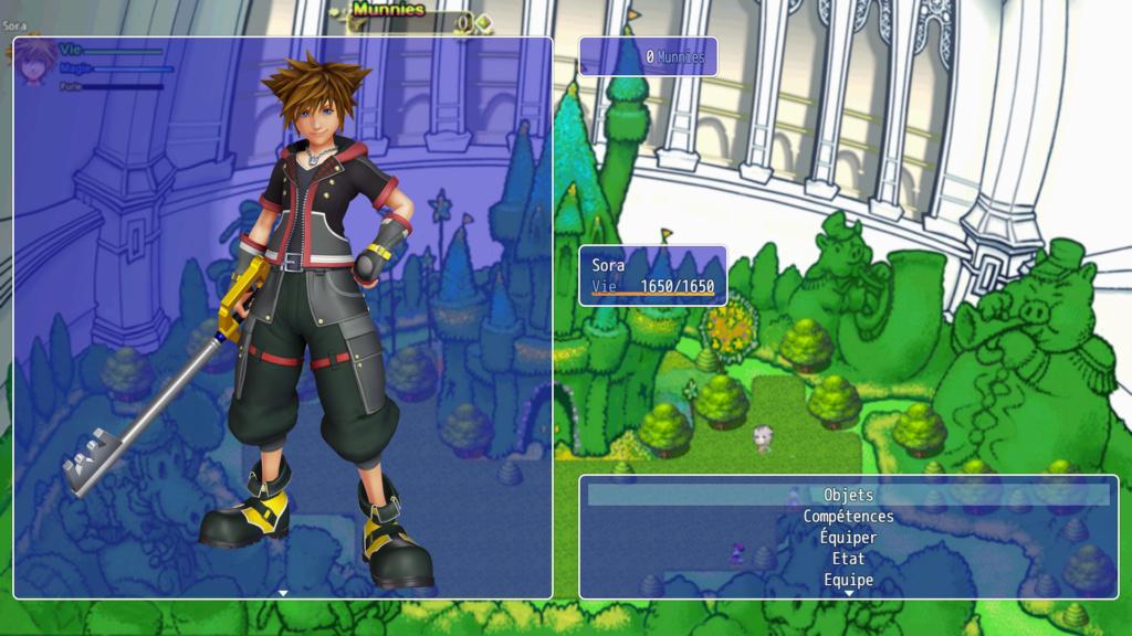 Kingdom Hearts Odyssée Féérique Menu10