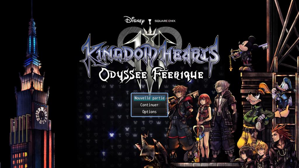Kingdom Hearts Odyssée Féérique Titre10