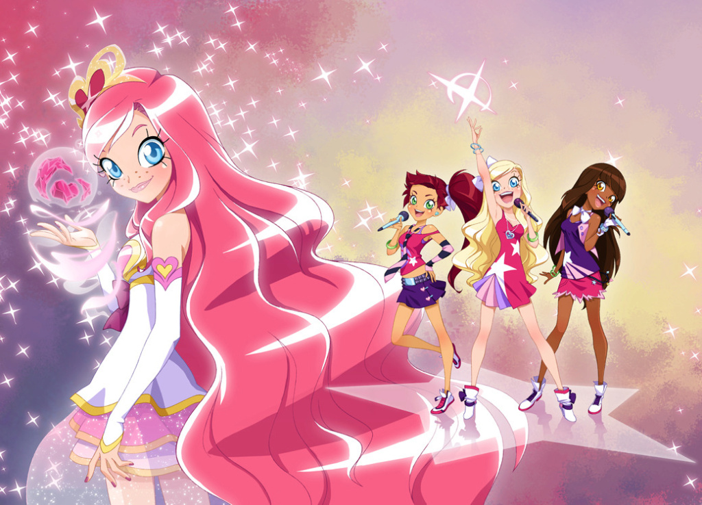 LOLIROCK serie TV princesse Magicienne NEWS Characters  Tumblr10