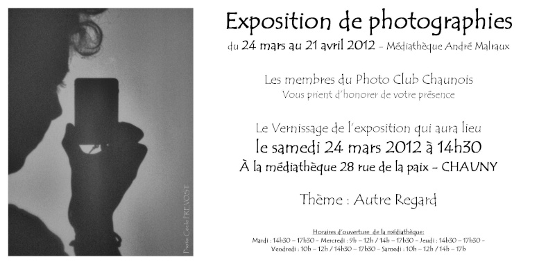 Exposition de photographies Autre Regard du 24 mars au 21 avril 2012  Exposi10