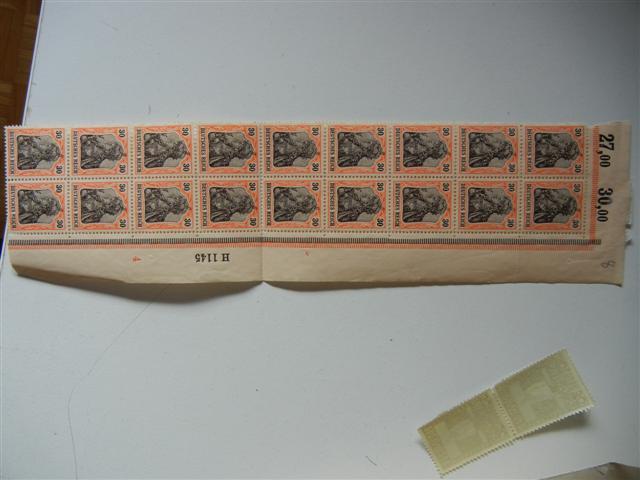 Germania 30 Pfennig Streifen A_057_11