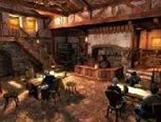 La taverne du village
