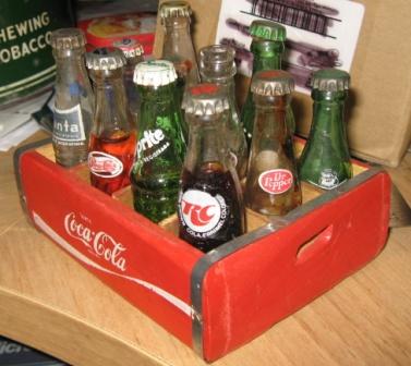mini bouteille de liqueur  Coca_c11