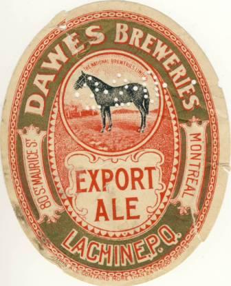etiquette dawes  et dawes black horse  Dawes10