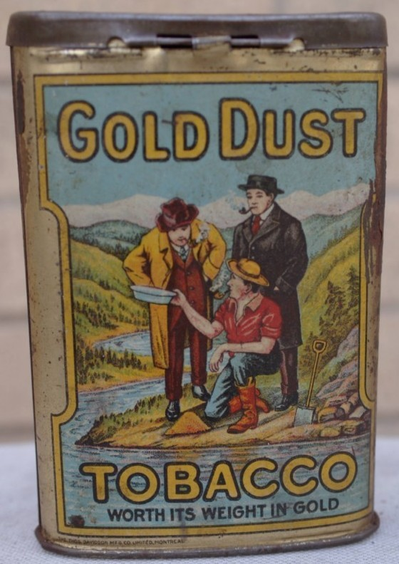 gold dust tobacco par b houde de quebec  Gold_d13