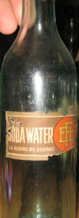 soda water fortier  la gloire du quebec  etiquette  Img_2022