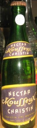 bouteille avec etiquette christin nectar mousseux Img_2110