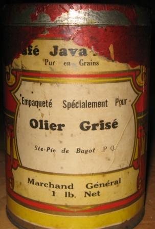 cafe java mocha olier grise ste pie de bagot marchand general  Img_3020