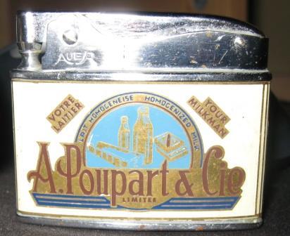 a poupart & cie  briquet de marque auer style zippo  Img_3423