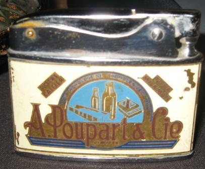 a poupart & cie  briquet de marque auer style zippo  Img_3424