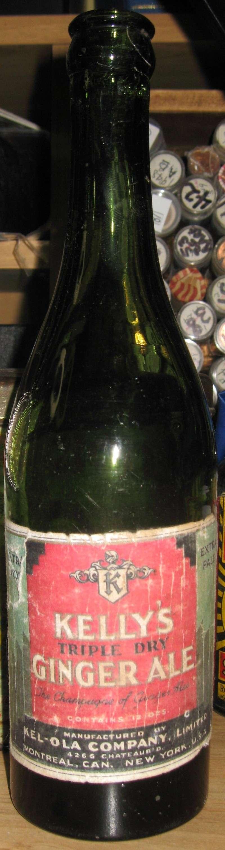kelly`s triple dry  ginger ale  kel-ola  montreal  Img_3615