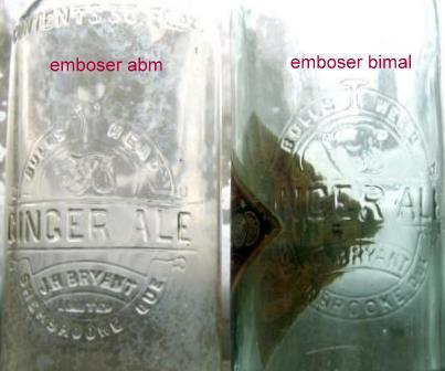 j . h . bryant emboser et  bimal avec sont etiquette  Img_8511